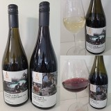 Seaside Pearl Fraser Gold Unoaked Chardonnay and Florence Pinot Noir 2018