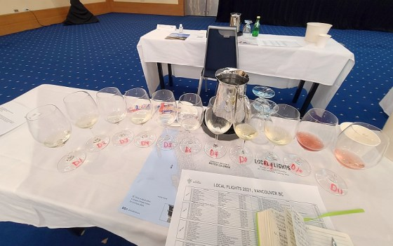 Second flight of BC wines - Less common white varieties