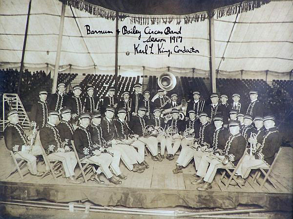 Barnum and Bailey  Concert Band 1917 Windjammers Karl L. King mywju