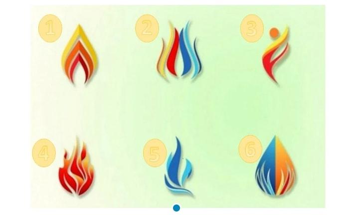 Выберите огонь и узнайте, какой свет сияет внутри вас