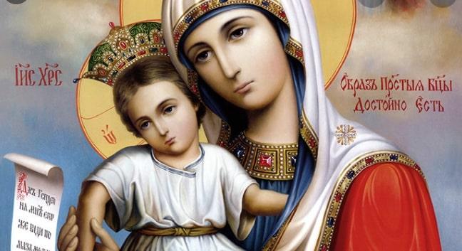 Сильная молитва пред чудотворной иконой «Достойно есть» в праздник 24 июня