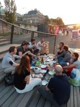 Picnic sur les berges de la Seine (6)
