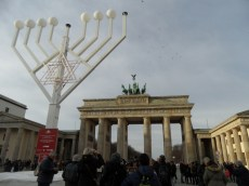 Chanukka am Brandenburger Tor (2)