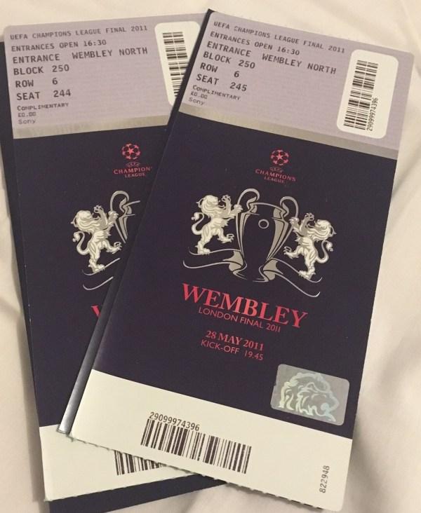 CL Final Tickets