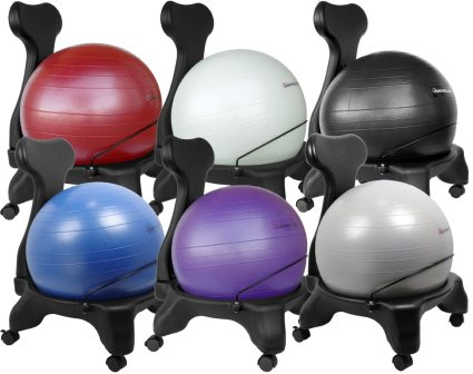 the best and affordable office ball chairs reviews 2015