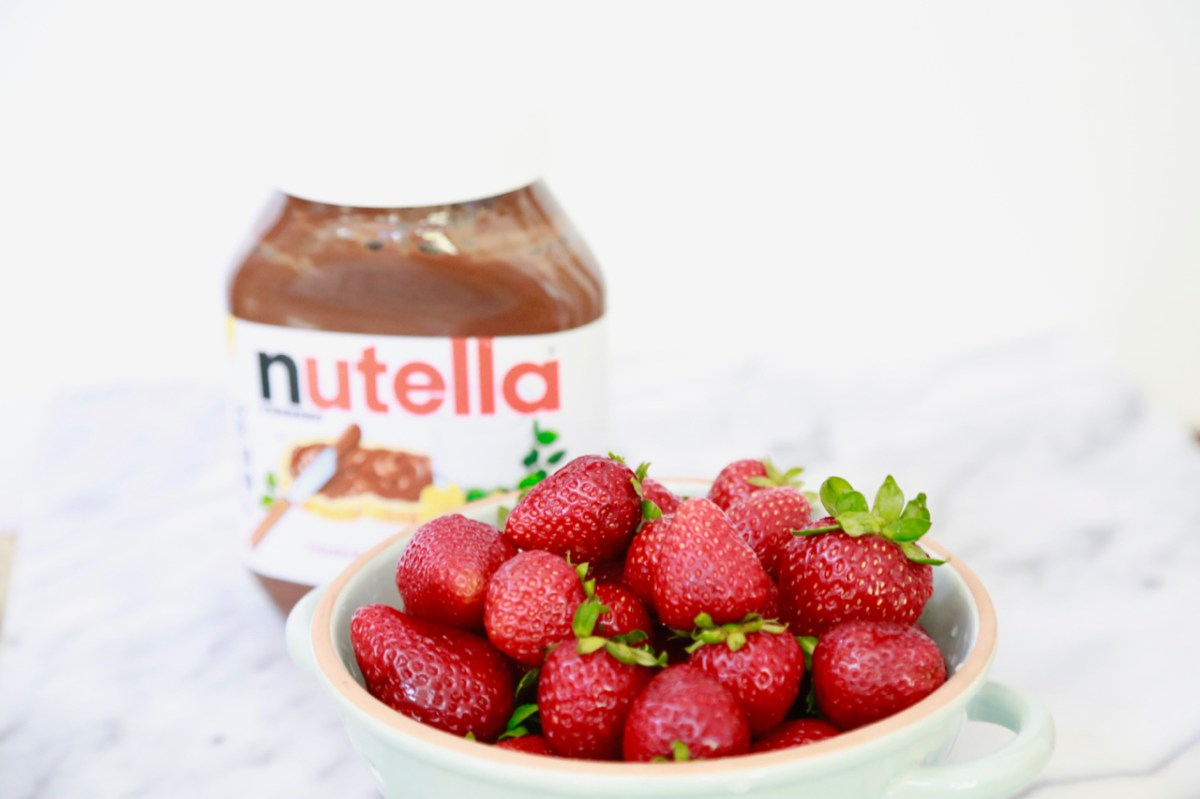 Strawberry and Nutella