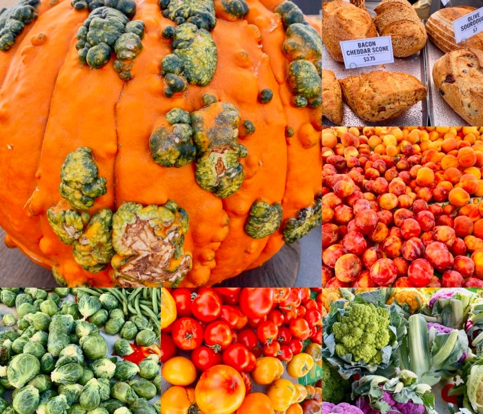 Our Weekend – Farmer's Market and Pumpkin Patch