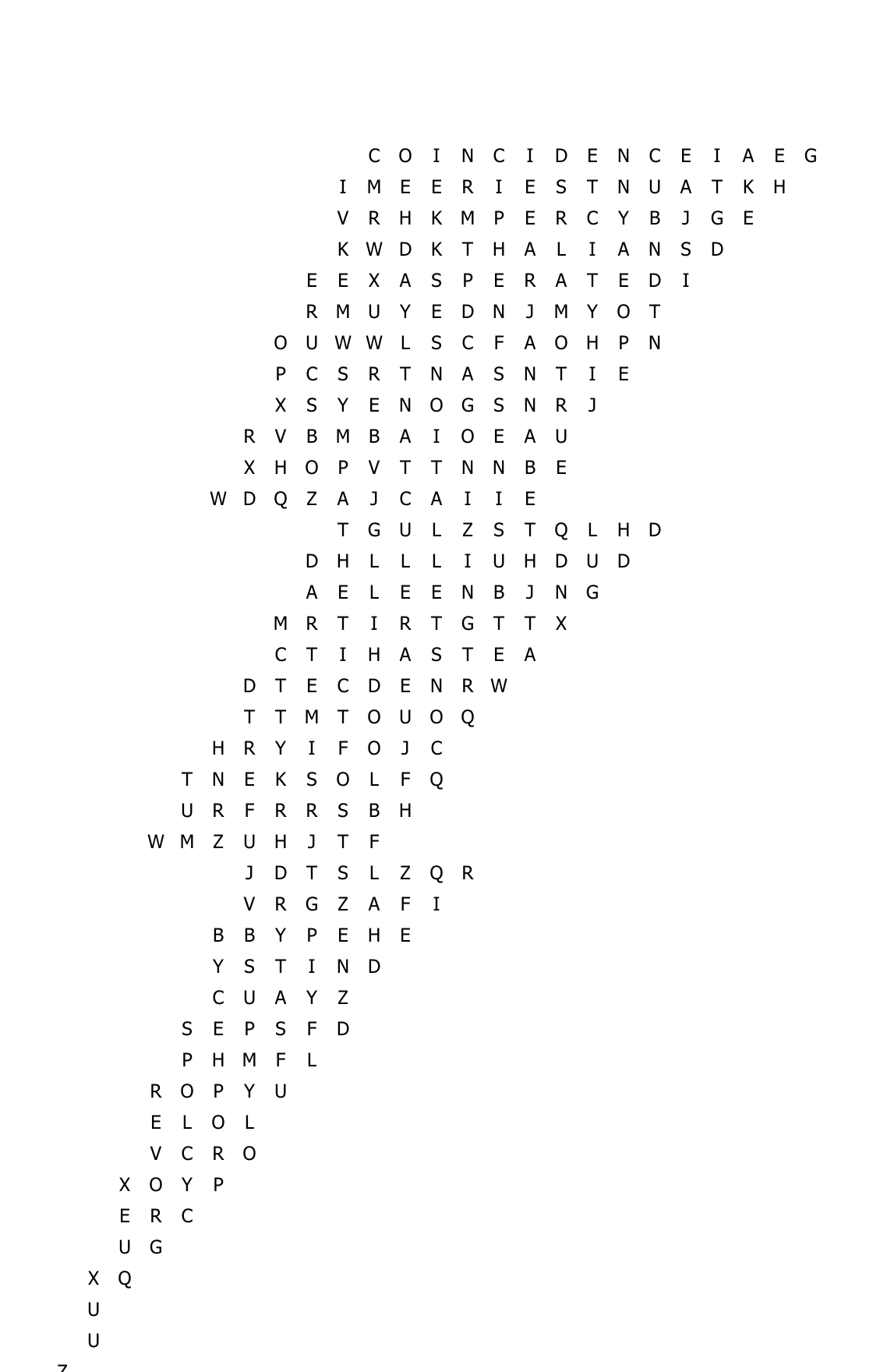 Percy Jackson Word Search 6th Grade