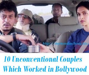 Unconventional Couples in bollywood