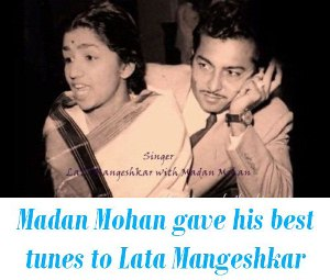 Madan Mohan Lata Mangeshkar Songs
