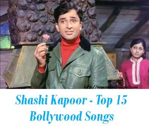 Shashi Kapoor Top romantic songs