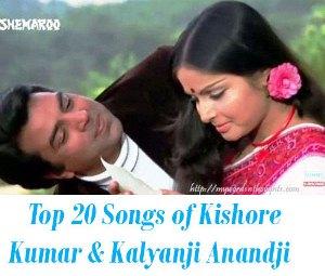 Kishore Kumar & Kalyanji Anandji songs