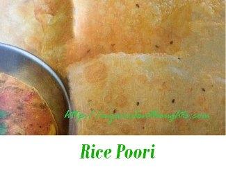 Rice Puri