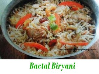 Bactal Biryani