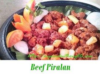 Beef Piralan