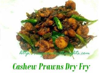 Prawns-Cashews fry