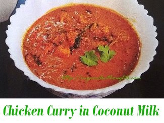 Chicken Curry in Coconut Milk