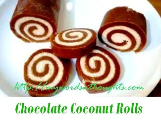 Chocolate Coconut Rolls