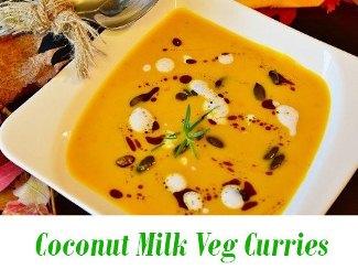 Coconut Milk Veg Curries