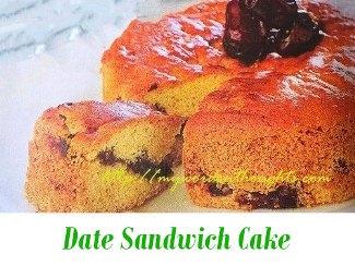 Date-Sandwich-Cake