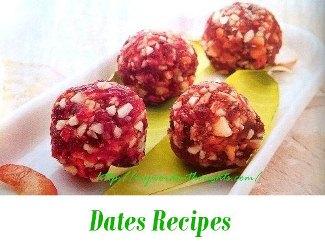 Dates Recipes