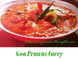 Goa Prawns Curry