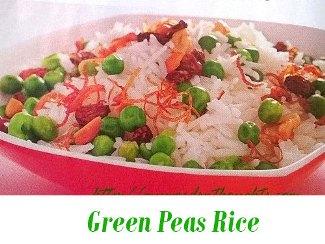 Green Peas Rice