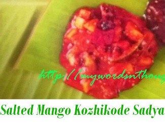 salted mango