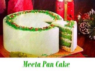 Meeta Pan Cake