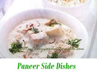 Paneer Side Dishes