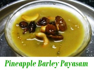 Pine Apple Barley Malt Payasam