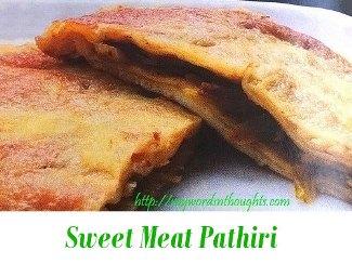 Sweet Meat Pathiri