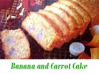 banana and carrot cake