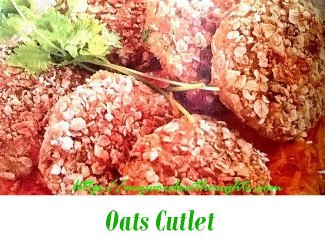 oats cutlet