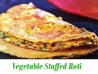 vegetable stuffed paratha