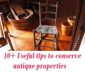 conserve antique properties