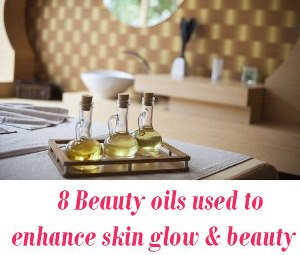 Beauty oils for skin