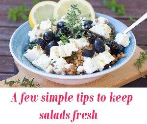 keep salads fresh