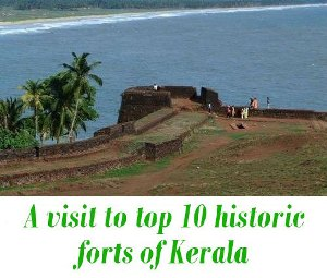 historic forts of Kerala