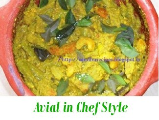 Avial in Chef Style