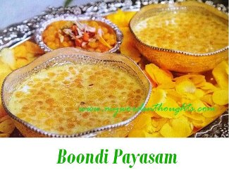 Boondi Payasam