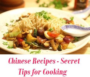 Chinese Recipes tips