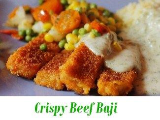 Crispy Beef Baji