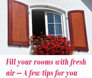 fresh air for rooms