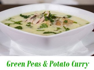 Green Peas & Potato Curry