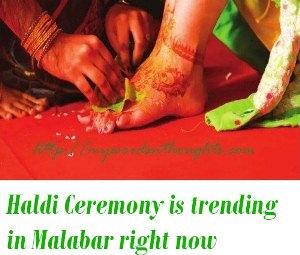 Haldi Ceremony in kerala