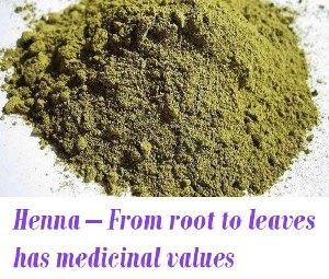 Henna medicinal values