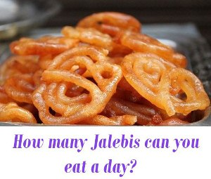 Jalebis a day