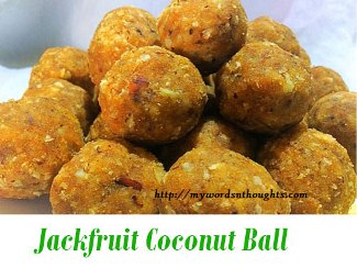 Jackfruit Coconut Ball