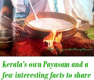 Payasam stories facts